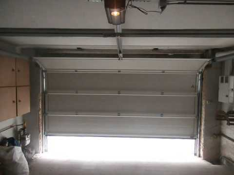 Porte de garage hormann youtube for Galet porte de garage basculante hormann