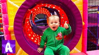 Fun Indoor Playground for Kids and Family with Funny Alex