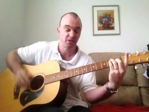 Maple Leaf Rag - Guitar Lesson, Part 1