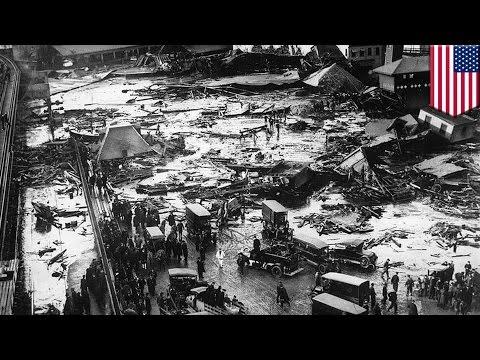 Great Molasses Flood: animated retelling of Boston's molasses tank catastrophe of 1919 - TomoNews