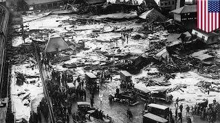 Great Molasses Flood  animated retelling of Boston's molasses tank catastrophe of 1919   TomoNews