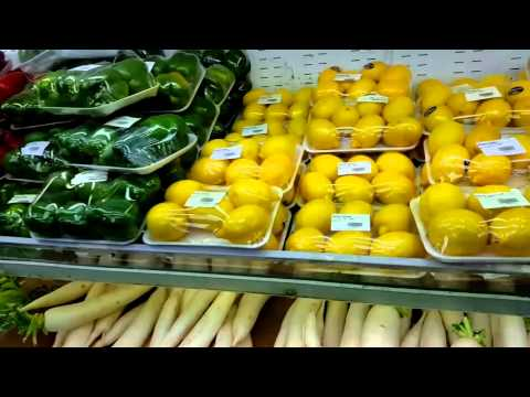 Vegetable shop in London.