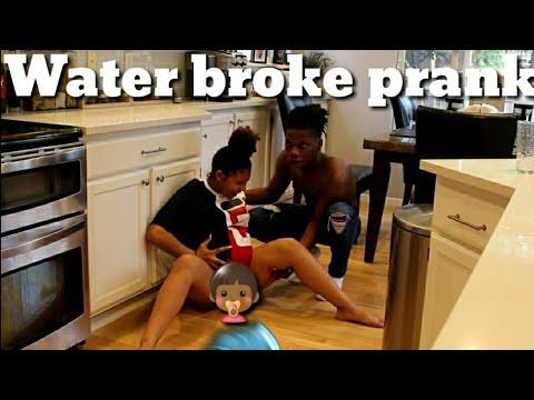 Download Water Broke Prank on BoyFriend  🌊👶🏾