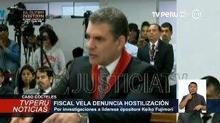 Caso Cócteles: Rafael Vela denuncia hostilización de la Fiscalía