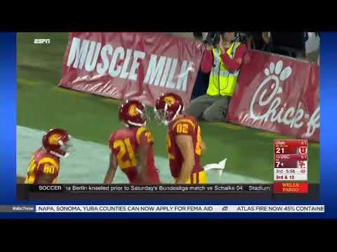 USC Football: USC 28, Utah 27 - Highlights (10/14/17)