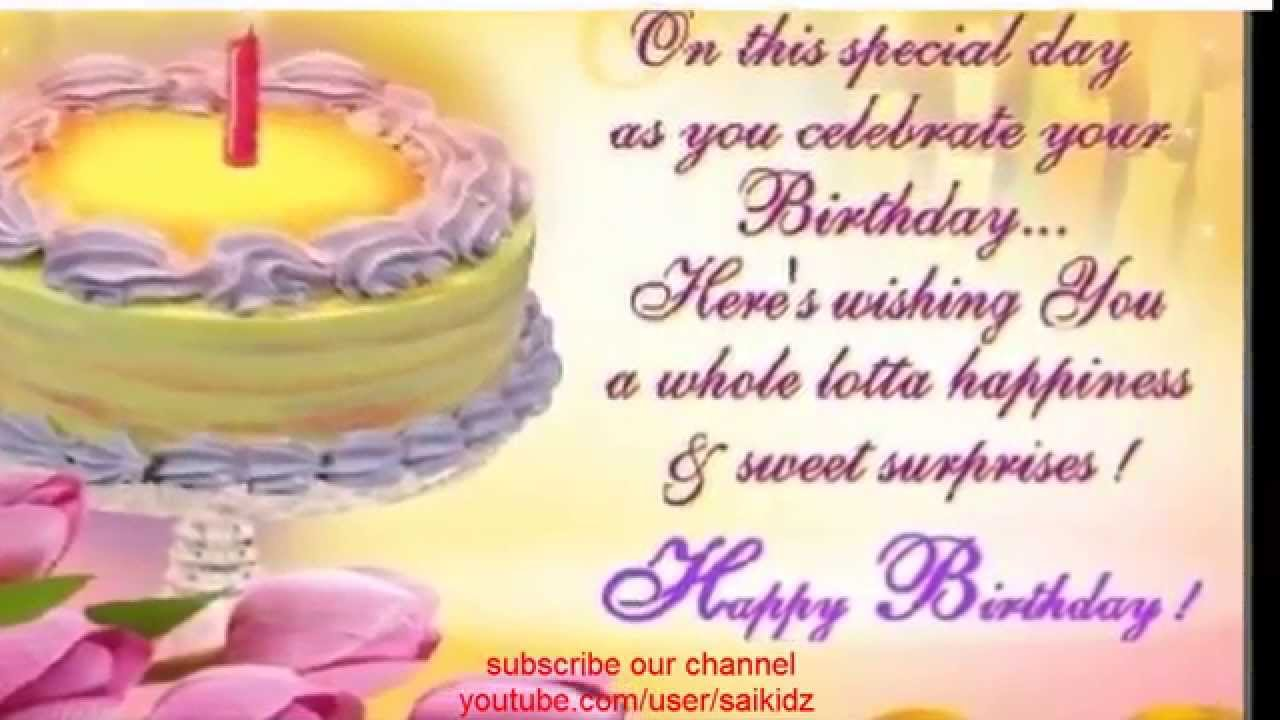Happy Birthday Wishes For Best Friendhappy Friend Whatsapp