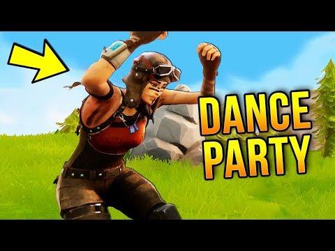 DANCE PARTY IN 50v50 MODE   Fortnite Best Stream Moments #24 (Battle Royale)