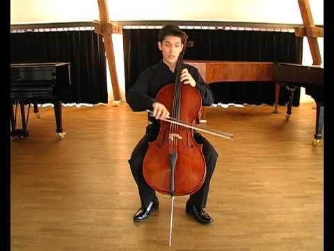 Bach 6th Cello Suite Gigue, Ashok Klouda