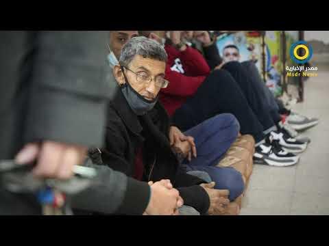 #شاهد | أسرى محررون يعتصمون للمطالبة باستكمال رواتب   زملائهم بسجون الاحتلال الإسرائيلي
