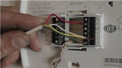 Central Air Conditioning Information : How to Wire a Digital Thermostat