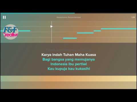 Karaoke Indonesia Pusaka ++ Lirik (No Vocal)