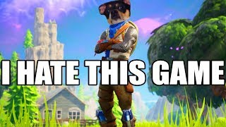 FORTNITE but it's on xbox one and i suck - Fortnite Gameplay