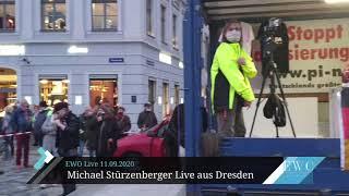 PEGIDA Dresden mit Michael Stürzenberger - 28. September 2020