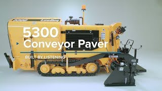 Video still for LeeBoy 5300 Asphalt Paver Overview