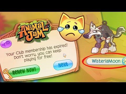 I LOST MY ANIMAL JAM MEMBERSHIP - NON-MEMBER STRUGGLE