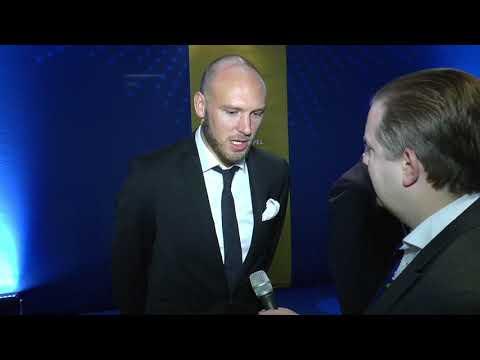 Andreas Granqvist -  Årets back och Guldbollen vinnare på fotbollsgalan!
