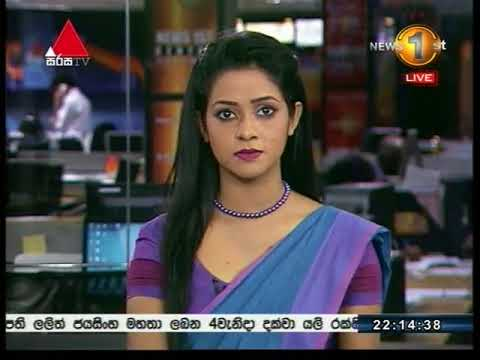 News 1st Sinhala Prime Time, Tuesday, August 2017, 10PM (22/08/2017)