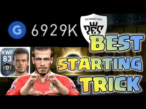 **BEST STARTING TRICK** PES MOBILE 2017 ~ How To Make Easy Coins GP And Get Crazy Black Ball Players from YouTube · High Definition · Duration:  5 minutes 33 seconds  · 137000+ views · uploaded on 29/12/2016 · uploaded by FutFreak - Fifa Mobile Soccer 18 S2
