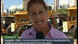 Cidades do Rio Grande do Norte recebem máquinas retroescavadeiras e motoniveladoras