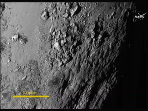 NASA releases new Pluto images