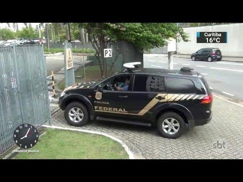 Nova fase da Lava Jato prende ex-gerente da Transpetro | SBT Brasil (21/11/17)