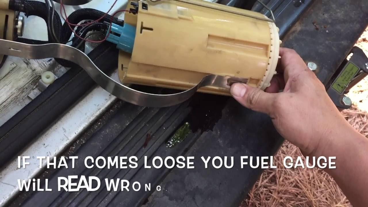 fuel gauge problems youtube rover 75 fuel gauge wiring diagram [ 1280 x 720 Pixel ]