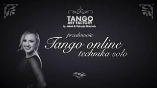 Jakub Grzybek & Patrycja Cisowska- Tango ONline Lesson 10 ( Women's Technique)
