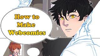 How to Make Webcomics - CLIP STUDIO PAINT TUTORIAL screenshot 5
