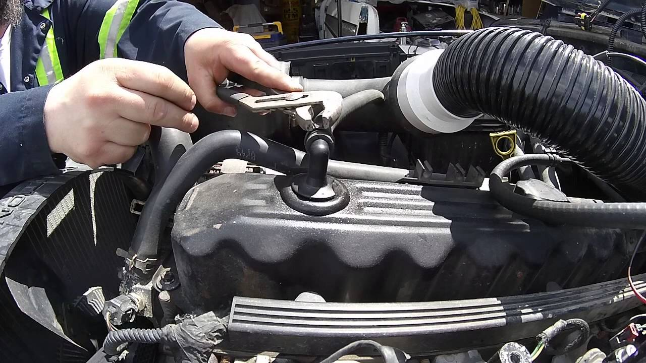 Jeep Tj Xj 4 0 Pcv Issue Caused A Slight Vacuum Leak Youtube