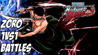One piece burning blood Zoro 1v1 online battles ( Ashura )