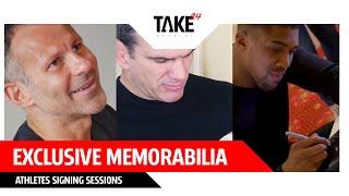Exclusive Memorabilia - Athlete Signing Sessions