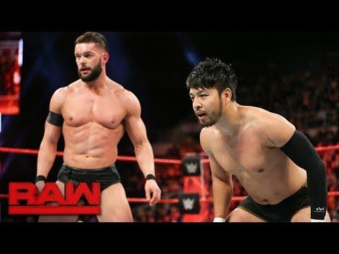 Finn Bálor & Hideo Itami vs. The Miztourage: Raw, Dec. 18, 2017