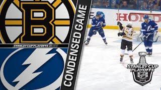 04/28/18 Second Round, Gm1: Bruins @ Lightning