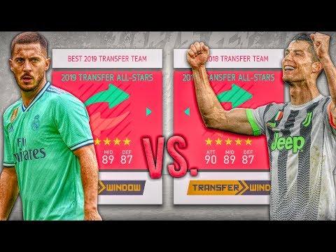 2018 Transfer ALL-STARS vs. 2019 Transfer ALL-STARS! - FIFA 20 Career Mode