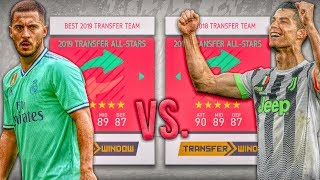 2018 Transfer ALL-STARS vs. 2019 Transfer ALL-STARS! - FIFA 20 Career Mode