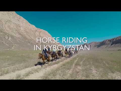 Horse Riding in Kyrgyzstan - Wild Frontiers