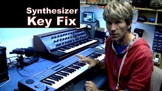 MF#35 Synthesizer key fix repair on roland Juno