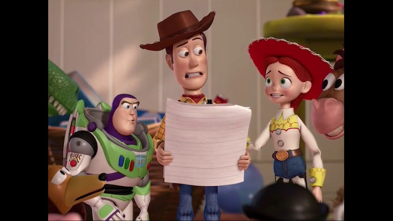 Toy Story 3 End Credits---BUZZ--WOODY And Many More... - YouTube