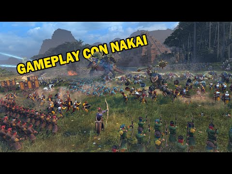 Total War  WARHAMMER 2 | The Hunter & The Beast PRIMER Gameplay en español |