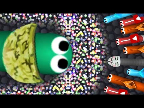 SECRET ARMY SKIN IS DEADLY! - Slither.io Skins Update - NEW Army Skin Slither World Record Gameplay!