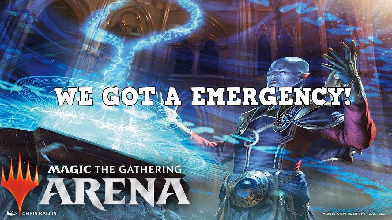 MTG emergency powers EXC-Powers Emergency-RNA-Magic