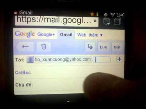 Hướng dẫn sử dụng dịch vụ Push Mail cho BlackBerry (Mobifone).3GP