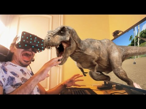 ARK EN REALIDAD VIRTUAL - OCULUS RIFT - ARK survival Evolved #5 - Nexxuz