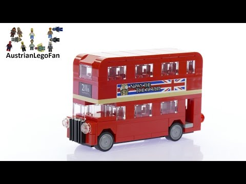 Lego Creator 40220 London Bus - Lego Speed Build Review