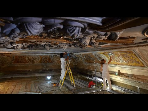 Nouvelle fenêtre : Cité vitrail - Trailer 2/6 : restauration des peintures