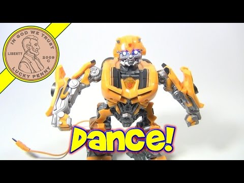 Transformers Beatmix Bumblebee Speaker for Mp3 Player Toy, Tiger Electronics