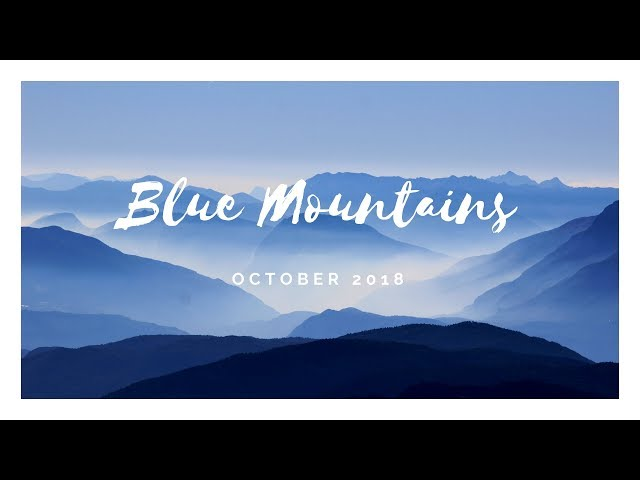 Blue Mountains - 2018