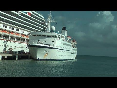 Atlantiküberquerung mit MS Berlin, Havanna - Venedig, 2.2. - 8.3.2017
