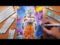 Drawing Goku's MASTERED Ultra Instinct Form!