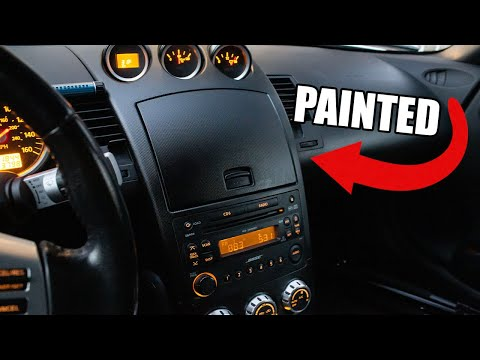 PAINT INTERIOR TRIM PANELS TO LOOK NEW AGAIN! (Nissan 350Z)